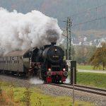 Dampflokomotive 52 7596 bei Oberndorf